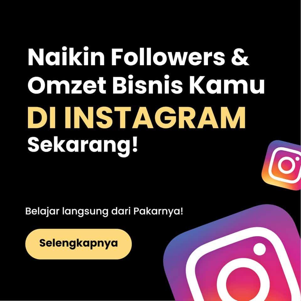 kelas instagram organik