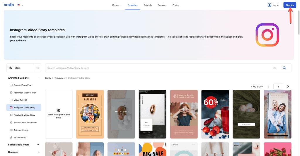 aplikasi desain instagram story