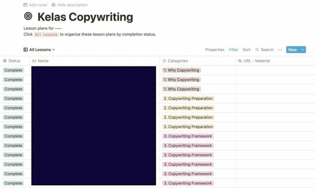 tools copywriting