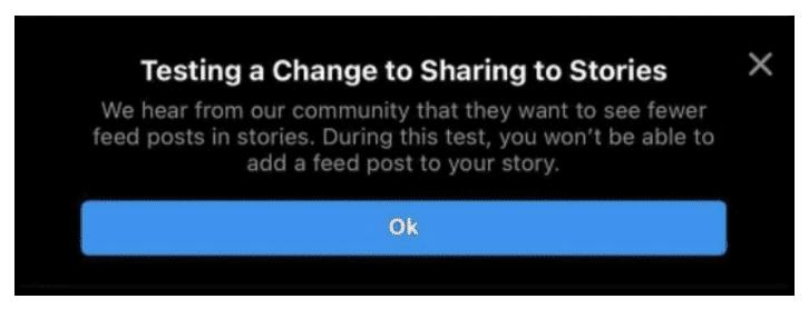 Notifikasi Share to Story